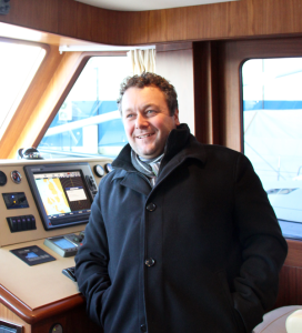 "W~Yacht principal Ola André Worre: ""Ideal waters for cruiser trawlers,"""