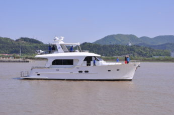 Explorer prepares to ship glistening new-generation cruiser